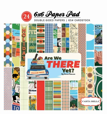 Carta Bella Are we There Yet  6x6 inch paperpad