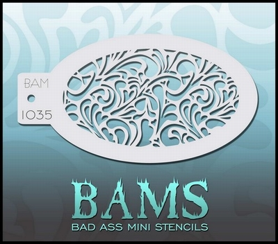 Bas Ass Mini Stencil 1035 prinses