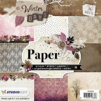 Paper Pad Blok Winter Days nr.  99