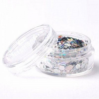 Superstar Laser Silver Chunky Mix | 8ml
