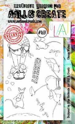 AALL & Create Stamp Set #169 Cheesy Wishes