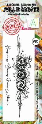 AALL & Create Border stamp #162 - Bouquet Border