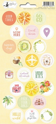 Stickers Sunshine 03 - sheets 10,5 x 23 cm