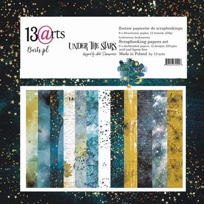 "13@rts | Under the stars Collection Kit 12""x12"" 