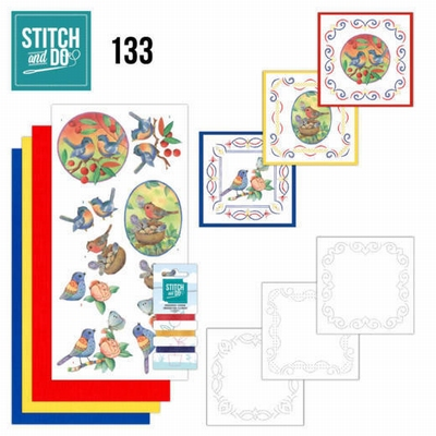 Stitch and Do 133 | Jeanine's Art Blue Birds