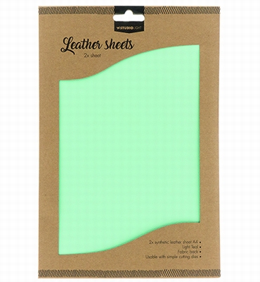 Fake Leather Sheets nr.07 | verpakking met 2 vel A4 Formaat