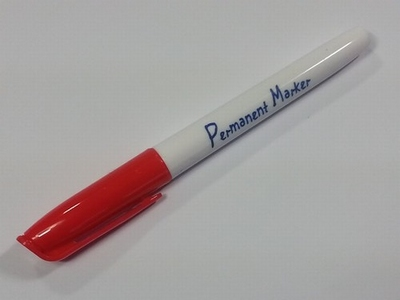Collall Krimpie Permanent marker ROOD