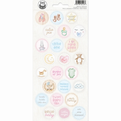 P13 | Sticker Baby Joy 3 - sheets 10,5 x 23 cm
