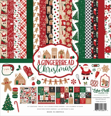 Echo Park Collection Kit A Gingerbread Christmas
