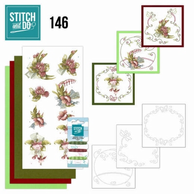 Stitch and Do 146 Precious Marieke Pretty Flowers