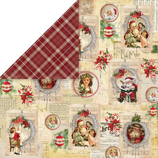 Craft & You | Paperpad 12 x 12 inch - North Pole