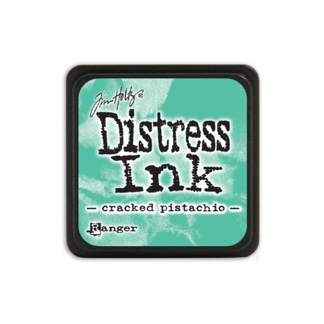 Distress Mini Ink Pad Cracked Pistachio