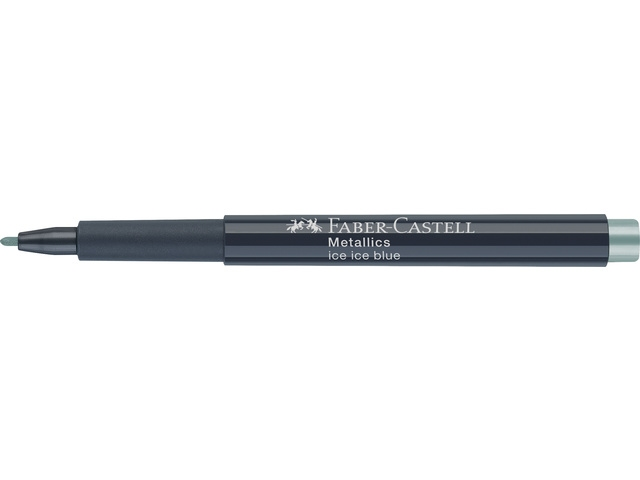 Faber Castell marker - Metallics - Ice Ice Blue
