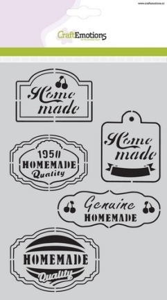 Fifties Kitchen labels  | A5