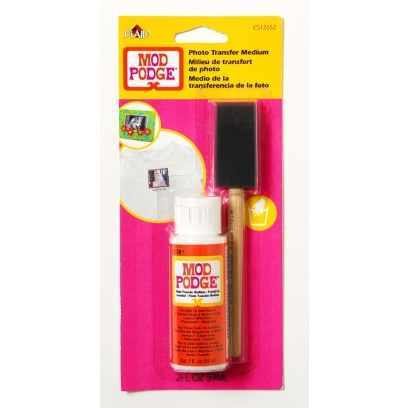 Mod Podge Photo Transfer incl. Brushkwast (59ml)