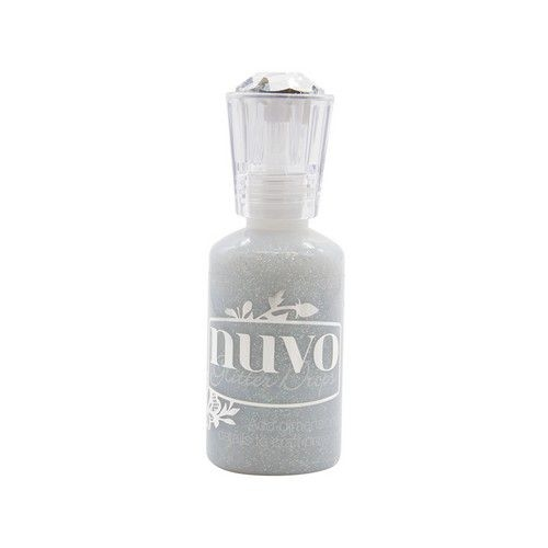 Nuvo glitter drops - Silver Crystals - 774N