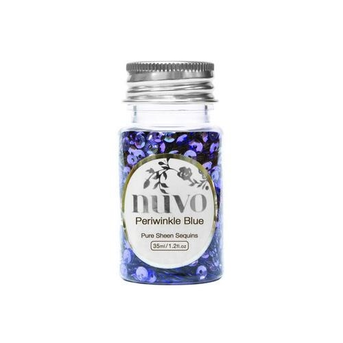 Nuvo pure sheen pailletten - Sequins Perwinkle Blue