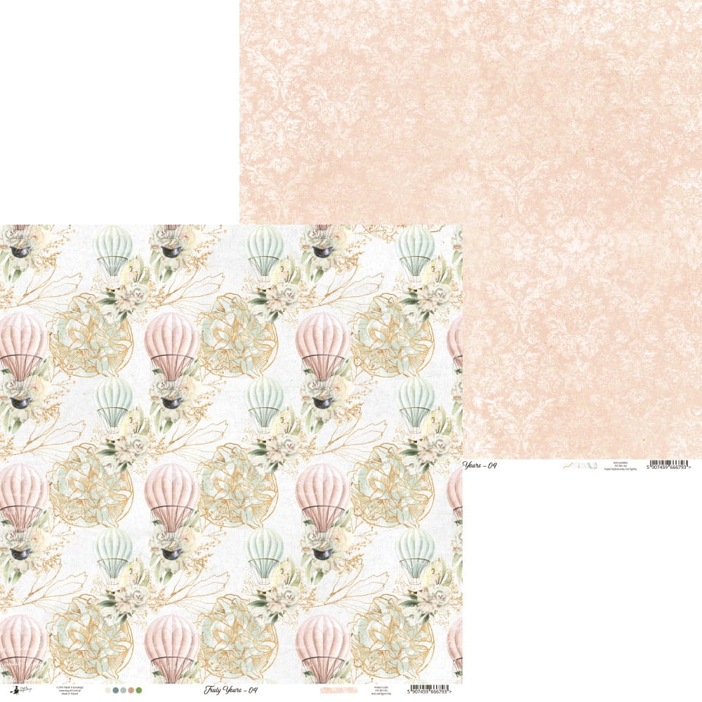 Piatek Paperpad Truly Yours 6 x 6 inch