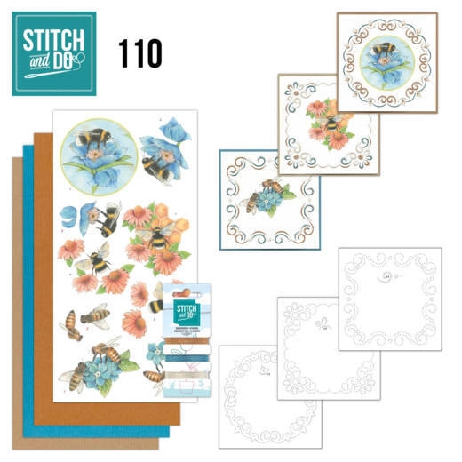 Stitch and Do 110-Bees and Flowers