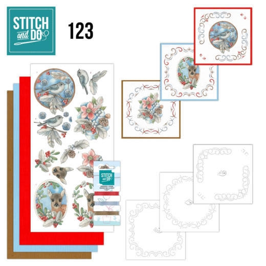 Stitch and Do 125 Spring Flowers