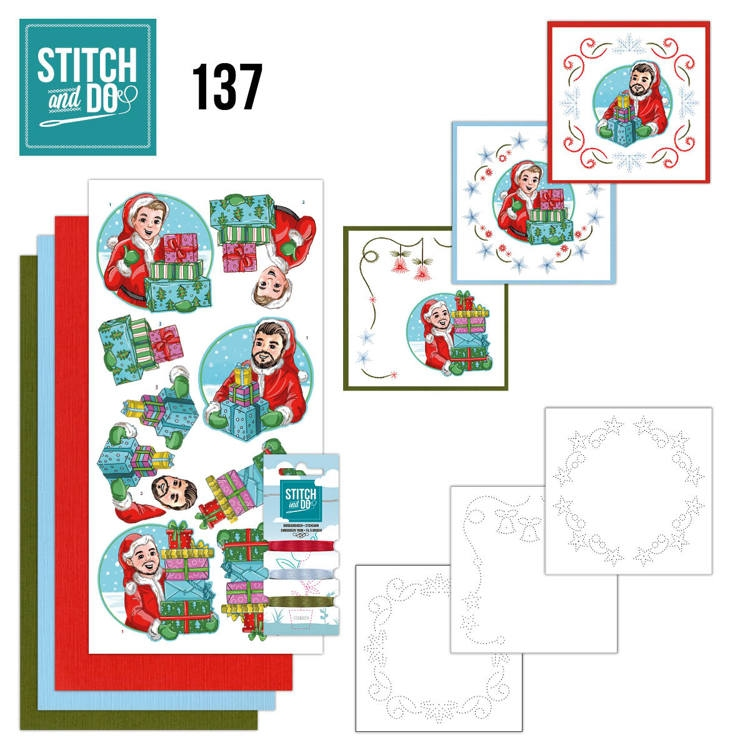Stitch and Do 137 Yvonne Creations Big Guys Christmas