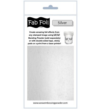 Wow Fab Foil | Bright Silver