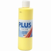 Plus Color Acrylverf Primary Yellow 250 ml