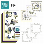 Stitch and Do 4 Voorjaarsbloemen
