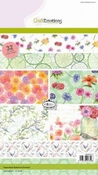 CraftEmotions Paper stack Botanical Summer 32 vel A5 per stuk