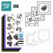 Stitch and Do 6 Viooltjes