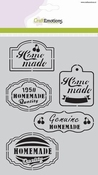 CraftEmotions Mask stencil Fifties Kitchen labels A5 per stuk