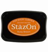 StaZon Ink Rusty Brown per stuk