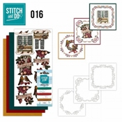Stitch and Do 16Brocante Kerst