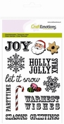 clearstamps A6 - Christmas text