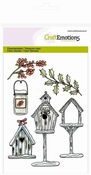 clearstamps A6 - Birdhouses per stuk