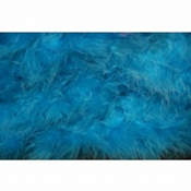 Marabou Turquoise Per Meter