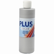 Plus Color Acrylverf Silver 250 ml