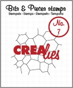 Crealies stempel Bits & Pieces stempel no 07