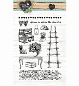 Studio Light stempel Love & Home nr,124