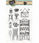 Studio Light stempel Love & Home nr,125