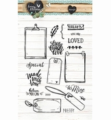 Studio Light stempel Love & Home nr,126