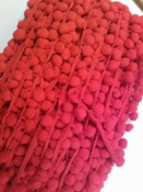 Bolletjesband 9 mm ROOD Per Meter