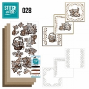 Stitch and Do 28 - Bruine Katten