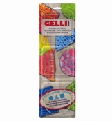 Gelli Printing Plates Set Circle, Triangel, & Square per stuk