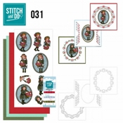 Stitch and Do 31 - Bloemenmeisjes
