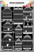 Dutch Doobadoo Paper Art A5 Birdcages