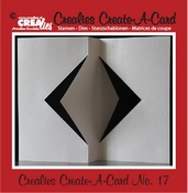 Crealies Create A Card no. 17 stans voor kaart