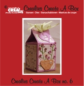 Crealies Create A Box no. 6 Melkpak per stuk