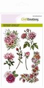 clearstamps A6 - Botanical Rose Garden 1 (hoek) per stuk