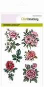 clearstamps A6 - Botanical Rose Garden 2 per stuk